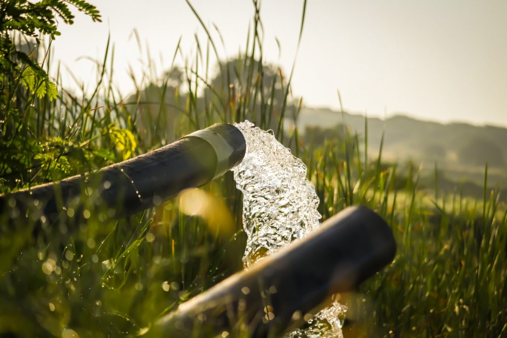 Grundwassernutzung Rohre